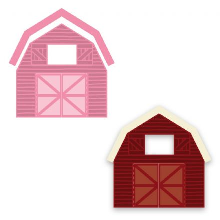 COL1406 ~ BARN ~ Marianne Design Collectables